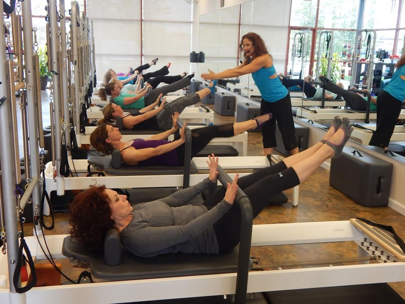 Clients Working Out